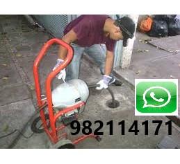 Desatoro, Mantenimiento y Limpieza de Desague con Maquina en San Isidro, Miraflores, Lima