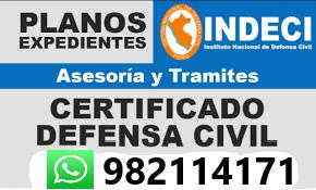 Indeci Levantamiento de Observaciones Expediente Municipal en Ate, Santa Anita, Salamanca