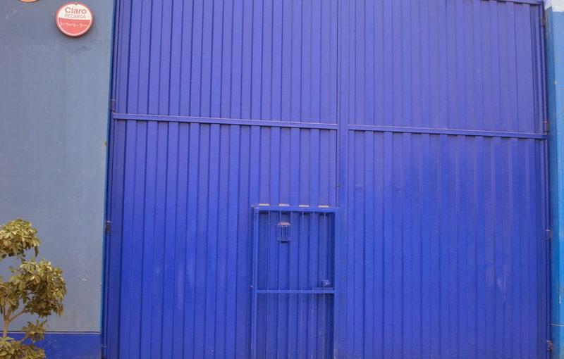 Portón Puerta Corrediza Batiente Para Fabrica Almacen Planta En