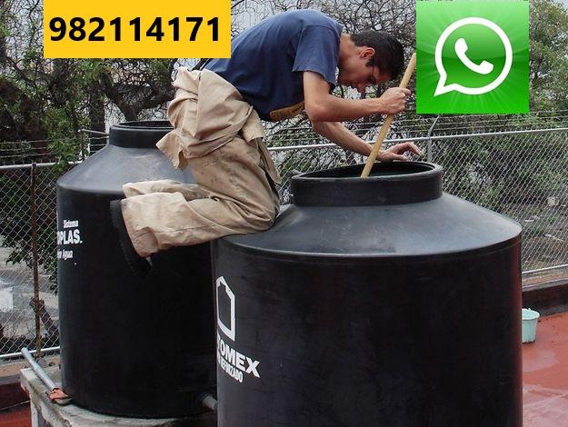 Limpieza de Tanque con Agua en Lima San Isidro Miraflores Surco La Molina