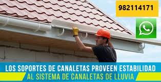 CANALETA PARA LLUVIA Instalación Mantenimiento Limpieza en Surco